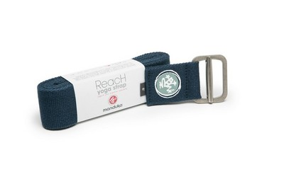 Manduka Reach Yoga Strap,10 Ft,Midnight