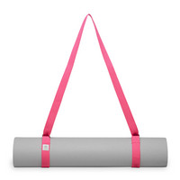 Gaiam Easy Cinch Yoga Mat Sling, PinkPurple Assorted