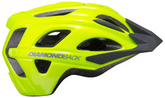 Diamonback Trace Adult Bike Helmet, Yellow. Small, Medium