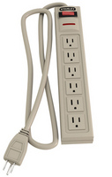 Stanley Electronic Surge Protector 6 Outlet