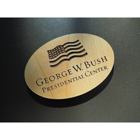 George W. Bush Presidential Center Logo Magnet