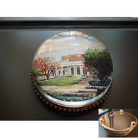 Bush Center Rose Garden Paperweight