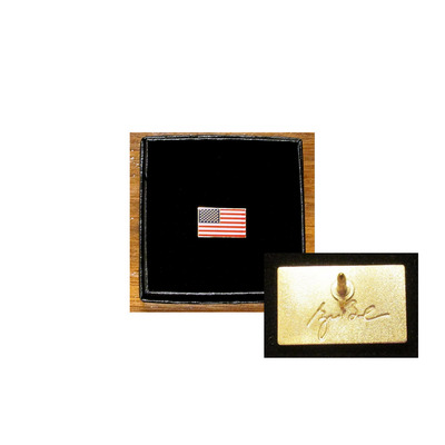 George W. Bush Presidential Center Store - Decision Points US Flag Pin