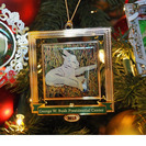 2015 Bush Center Ornament featuring Lamb of God