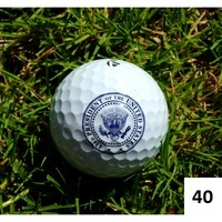 43rd Presidential Seal Golf Ball