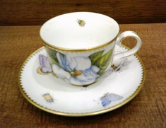 Magnolia Cup and Saucer