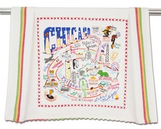 Chicago Dish Towel