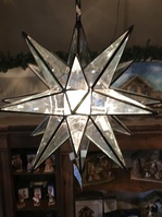Beveled Glass Electric Star