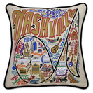 Collegiate Embroidered Pillow