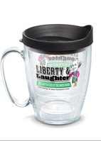 Liberty and Laugher Tervis Mug