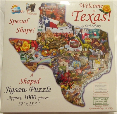 Puzzle Welcome to Texas