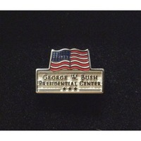 George W. Bush Presidential Center Lapel Tac