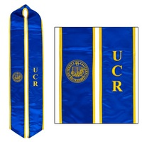 Blue UCR Seal Sash