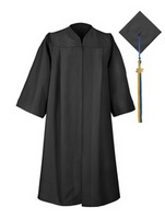 Cap, Gown and Grad Year Tassel Bundle