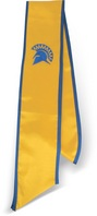 Graduation Stole  SJSU Gold includes spartan logo and year