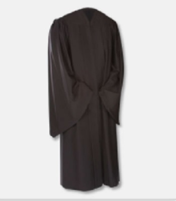 Bachelors Gown  (We will contact you for sizing)