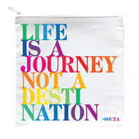 life is a journey pouch