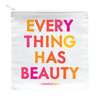 everything has beauty pouch