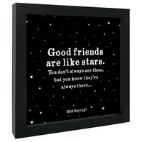 FRAMED PRINT GOOD FRIENDS