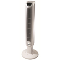 Lasko 36 Tower Fan with Remote Control in White