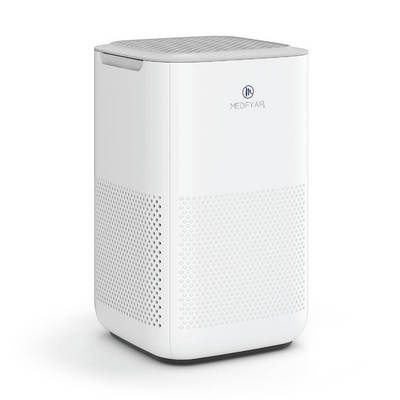 Medify MA 15 Air Purifier with H13 True HEPA Filter 99.9% Removal 330 sq ft Coverage White