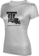 ProSphere Womens Bowling Womens TriBlend Distressed Tee
