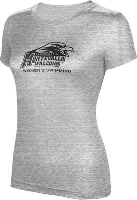 ProSphere Womens Swimming Womens TriBlend Distressed Tee