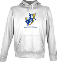 Spectrum Womens Basketball Youth Unisex Distressed Pullover Hoodie