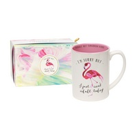 C.R. Gibson Cant Adult Today Porcelain Boxed Mug