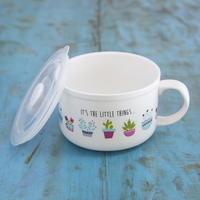 Natural Life Soup Mug Its Little Things
