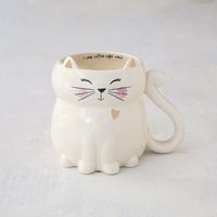 Natural Life Folk Mug Cat