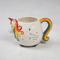 Natural Life Folk Mug Unicorn