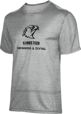 ProSphere Swimming & Diving Unisex TriBlend Distressed Tee