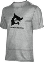 ProSphere Womens Bowling Unisex TriBlend Distressed Tee