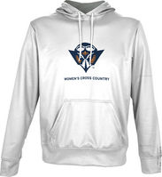 Spectrum Womens Cross Country Unisex Distressed Pullover Hoodie
