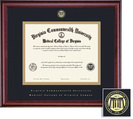 Framing Success Classic DDS Diploma Frame in a Burnished Cherry Finish