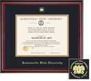 Framing Success Diploma Frame, Black & Gold Mat in a Rich Burnished Cherry Finish