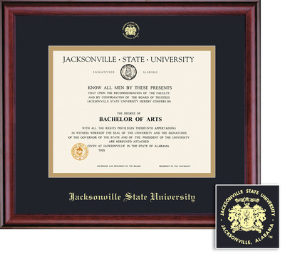 Jacksonville State University Bookstore - Framing Success Diploma ...