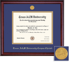 Framing Success Classic PhD Diploma Frame in a Burnished Cherry Finish