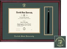 Framing Success Classic BA Diploma Tassel Frame in Burnished Cherry Finish