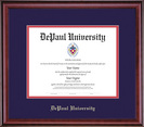 Framing Success Classic Diploma Frame in a Burnished Cherry Finish. Bachelors, Masters