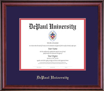 Framing Success Classic PhD Law Diploma Frame in Burnished Cherry Finish
