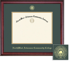 Framing Success Classic Diploma Frame, Hardwood Moulding in a Burnished Cherry Finish