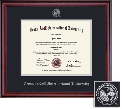 Framing Success Classic Diploma Frame Hardwood in a Burnished Cherry Finish