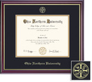 Framing Success Windsor MPPA PharmD Diploma Frame in Gloss Cherry Finish and Gold Trim