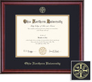 Framing Success Classic MPPA PharmD Diploma Frame in a Burnished Cherry Finish