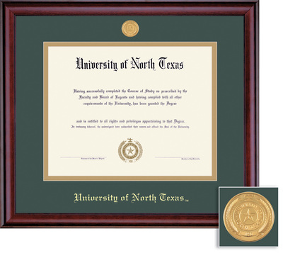 University of North Texas Bookstore - Framing Success Classic PhD MD ...