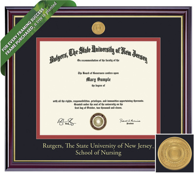Framing Success Windsor Diploma Frame. Nursing