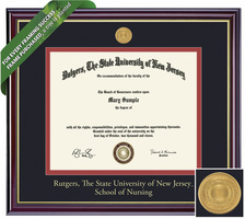 Framing Success Windsor Diploma Frame. Bachelors Nursing