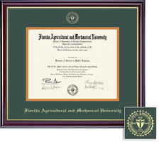Framing Success Windsor Law Diploma Frame,Double Matted in Gloss Cherry Finish and Gold Trim